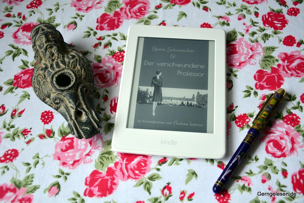 Cover von Emma Schumacher und der verschwundene Professor auf dem Kindle