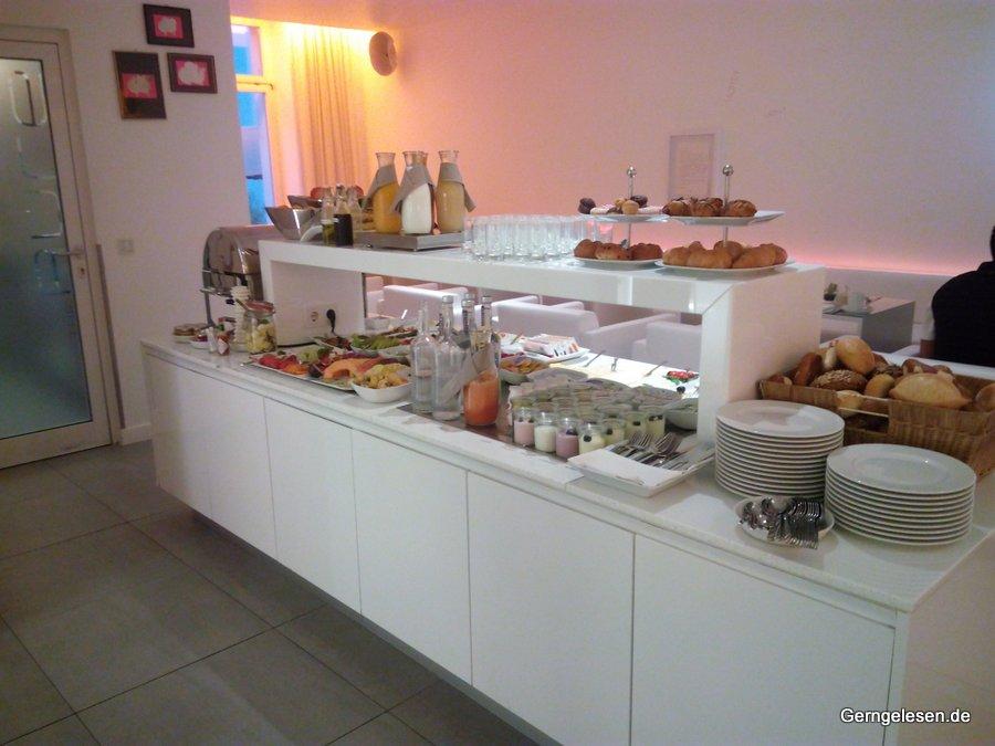Frühstücksbuffet im Hotel