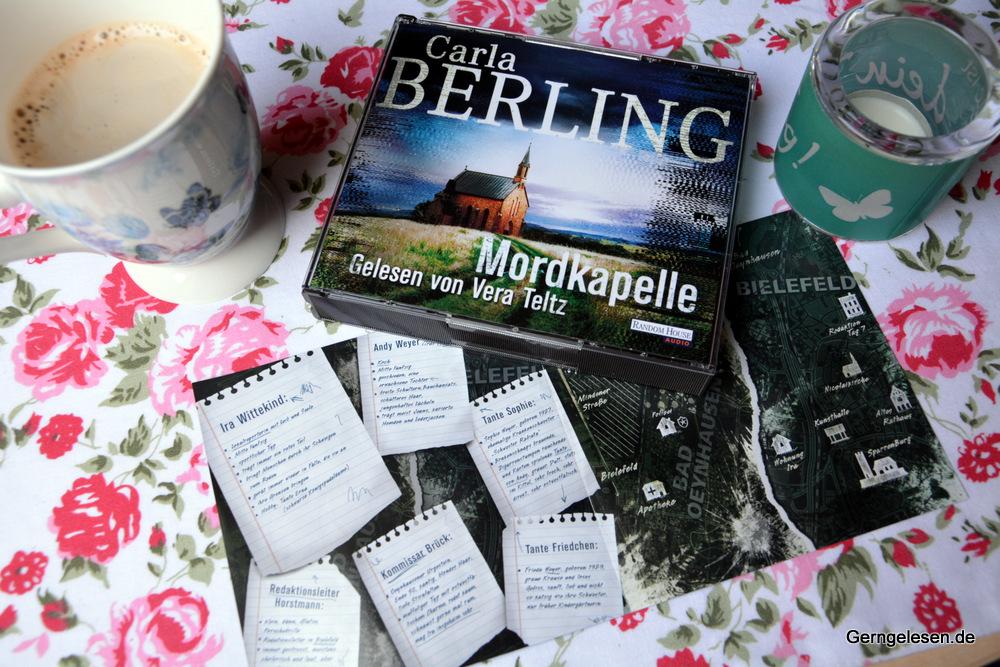 Hörbuch-Box: Mordkapelle von Carla Berling