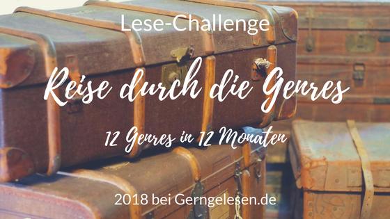Reise durch die Genres - Challenge 2018