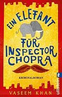 Ein Elefant für Inspektor Chopra Cover
