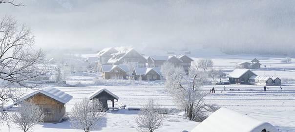 Schneelandschaft - Thriller mit Thema Eis und Schnee