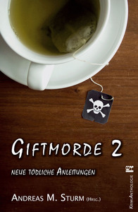 "Cover zur Krimi-Anthologie ""Giftmorde 2"""