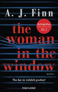 Cover zu The Woman in the Window von A. J. Finn, Psychothriller
