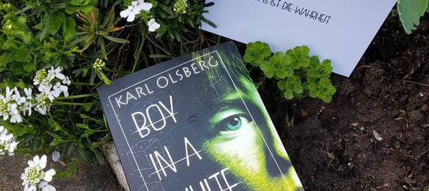 Karl Olsberg: Boy in a white Room, Young Adult, Thriller
