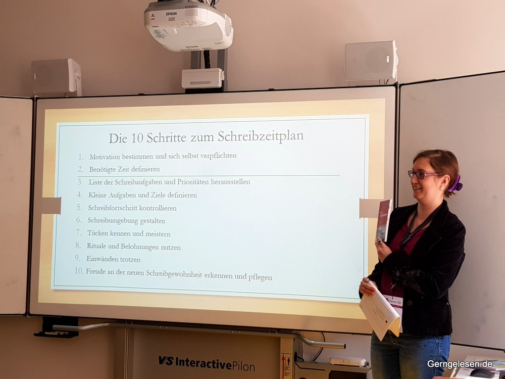 Schreibzeitplan, Litcamp Bonn,