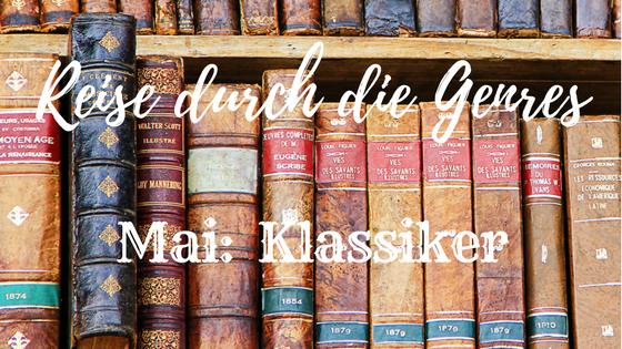 Logo #ReisedurchdieGenres, Mai, Klassiker
