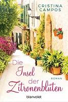 Cover Die Insel der Zitronenblüten von Christina Campos, Liebesroman, Mallorca