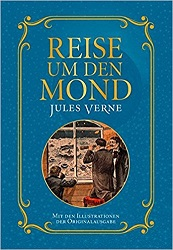 Reise um den Mond Jules Verne Science-Fiction