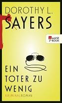 Dorothy L. Sayers, Ein Toter zu wenig, Krimi, Klassiker