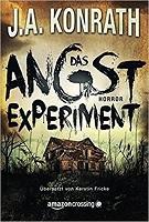 Cover zu J. A. Konrath, Das Angstexperiment, Horror, Reise durch die Genres, Genre des Monats Oktober