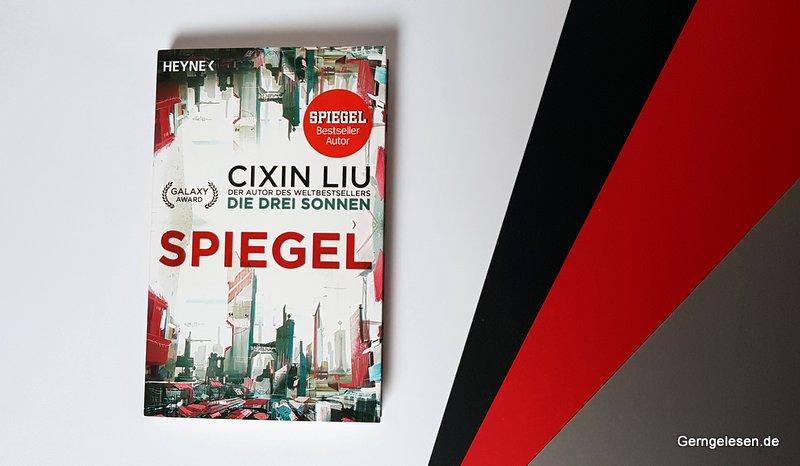 """schön gestaltete Ausgabe der Novelle """"Spiegel"""" von Cixin Liu"""