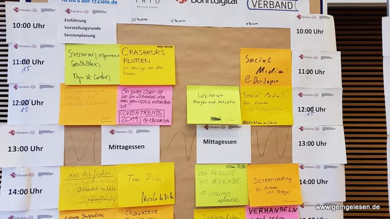 Litcamp Bonn 2019 Sessionplanung